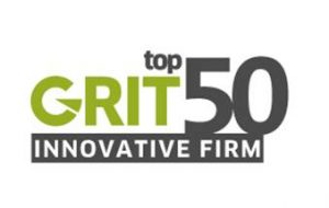 listed in GRIT 50Most Innovative Companies