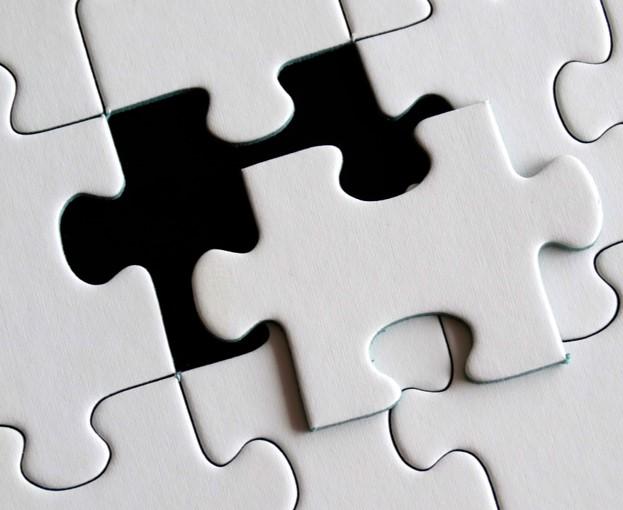 Puzzle pieces fit