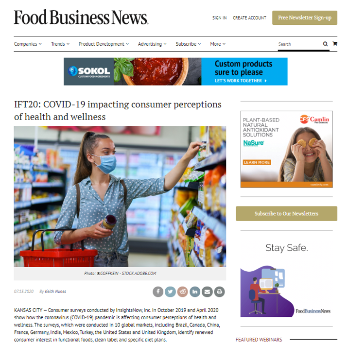 IFT20 Food Business News article scrn sht